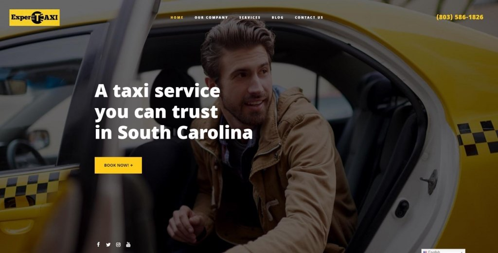 Website de Expertaxi